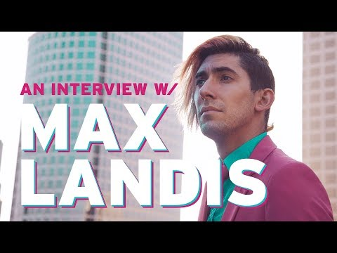 Max Landis Talks Green Valley & More! - SDCC 2017