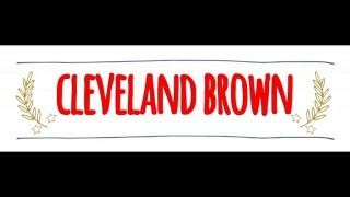 American vs Australian Accent: How to Pronounce CLEVELAND BROWN in an Australian or American Accent