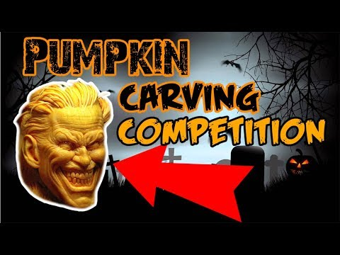 (YOU VOTE!!) PUMPKIN CARVING COMPETITION!!