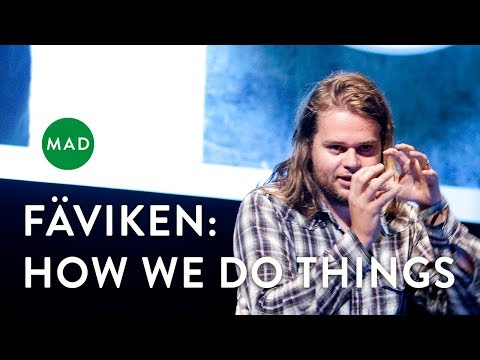 """Magnus Nilsson at MAD1: """"Fäviken: How we do the Things that We Do"""""""
