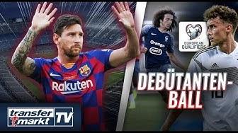 Ablösefreier Messi-Wechsel möglich! – Die Debütanten der Top-Nationen | TRANSFERMARKT
