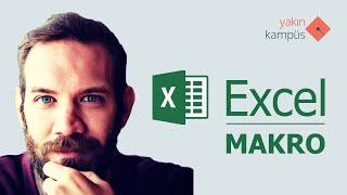 Yakın Kampüs - Excel Makro 1 - Makroya Giriş ve Temel Yazım Komutları