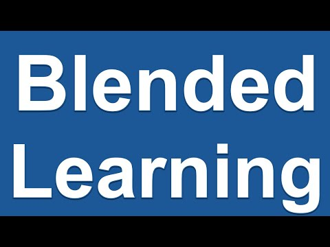 Blended Learning in Higher Education