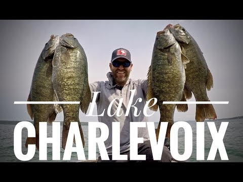 Lake Charlevoix Smallmouth - Late August 2018