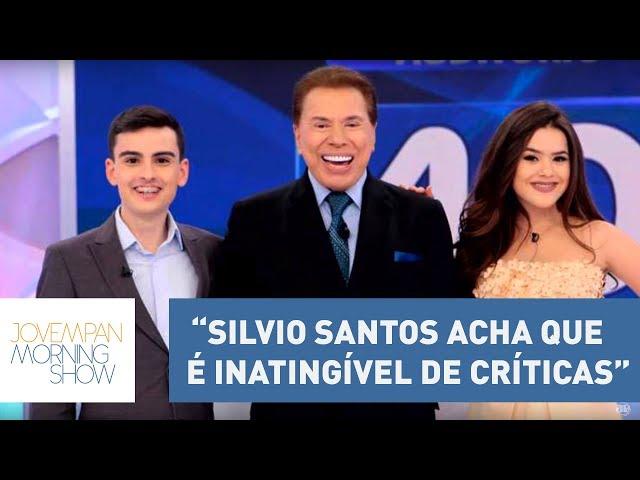 """""""Silvio Santos acha que é inatingível de críticas"""", diz Vini sobre polêmica com Maisa e Dudu"""