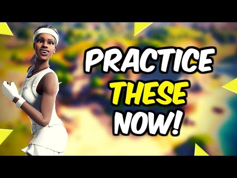 How To Practice And Actually Improve! - (Fortnite Battle Royale)