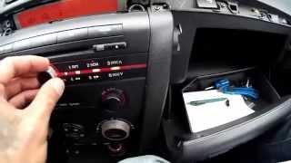 Как  установить YATOUR. мп3 чейнджер для  Mazda 3 .