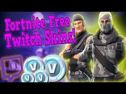 Fortnite Twitch Skins FREE! Tutorial!