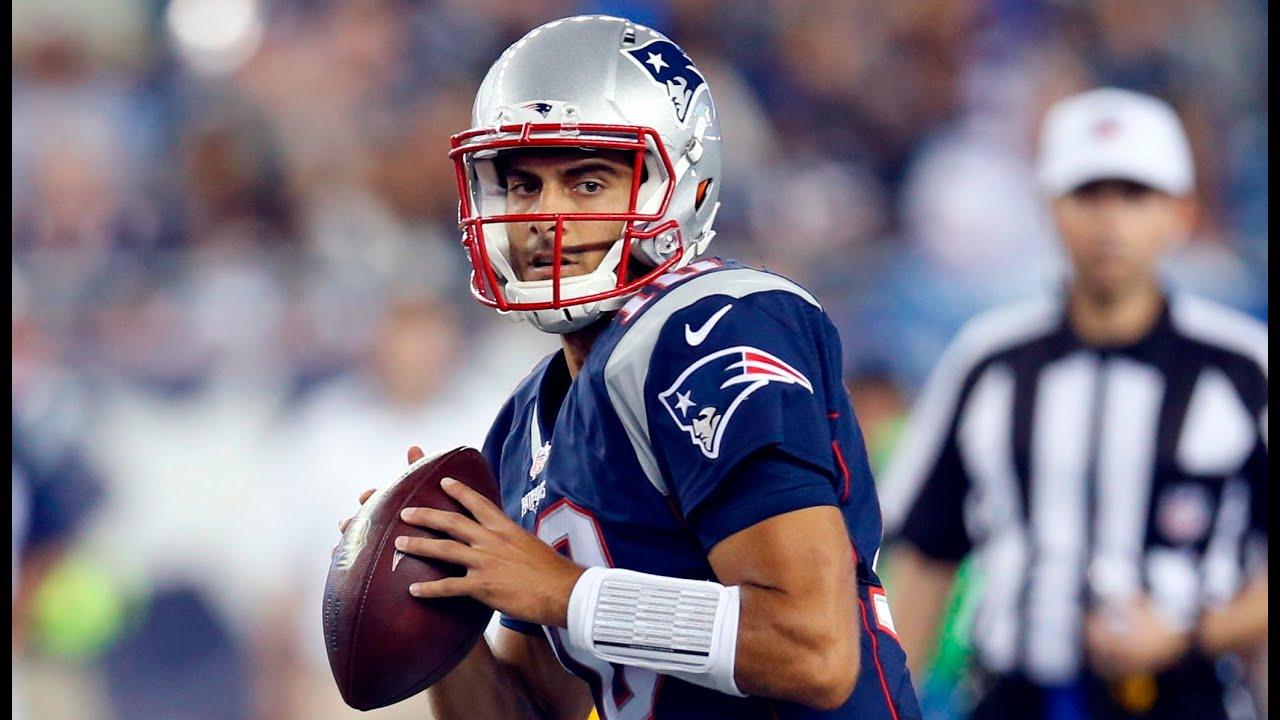 New England Patriots QB Jimmy Garoppolo 2015 NFL Preseason ... Jimmy Garoppolo Patriots Highlights