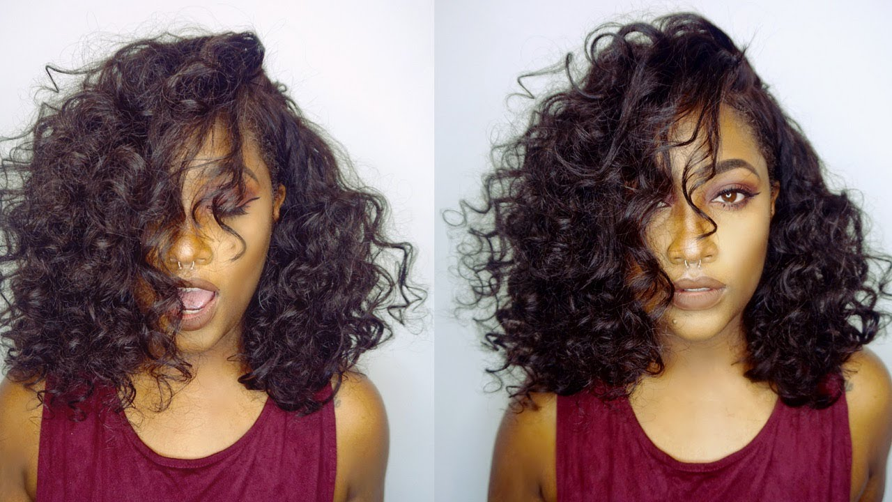 Loose Wave SHORT HAIR | Modern Hair Show - YouTube