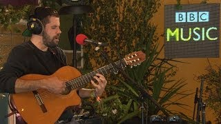 Nick Mulvey performs Fever To The Form in the BBC Music Tepee at Glastonbury 2014