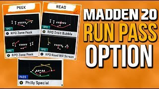 Madden 20 News - New Run/Pass/Options (RPO), Jet Sweeps, & Philly Special