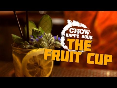 Generate The Fruit Cup and Drinking in England - CHOW Happy Hour Images