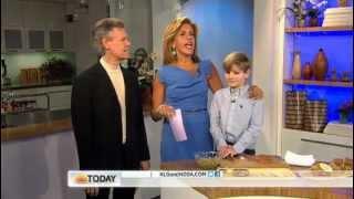 Logan - Jif NBC in New York City on the Today Show : Hoda Kotb and Randy Travis