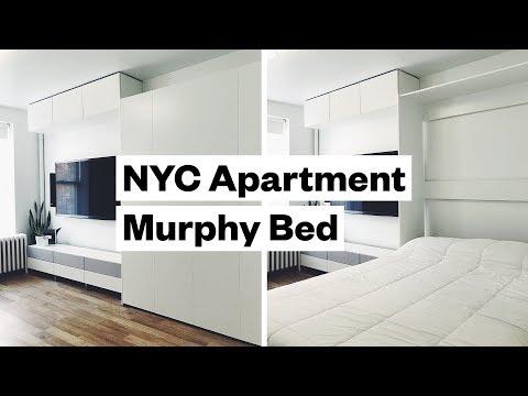 We got a murphy bed!