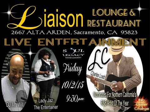 "Lady Jaz The Entertainer at Liaison Lounge ""Blackpeoplemeet.com"""