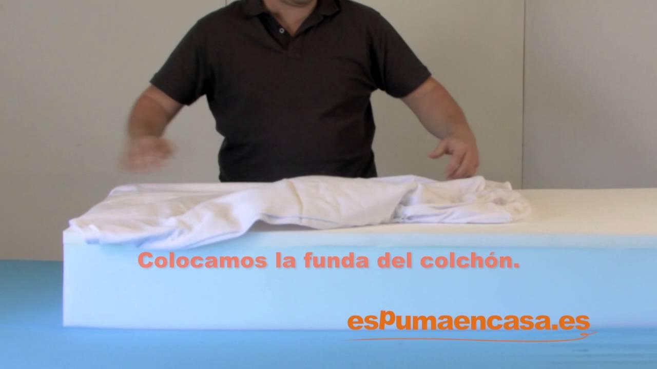 1cff1768f23 Cómo fabricar tu propio colchón - YouTube