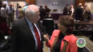 US Senator Mike Gravel on UFO Cover-up at the Citizen Hearing 2 of 2