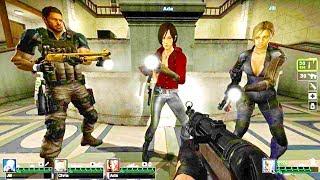 Left 4 Dead 2 - Resident Evil 2 - Side A Custom Campaign Gameplay Walkthrough