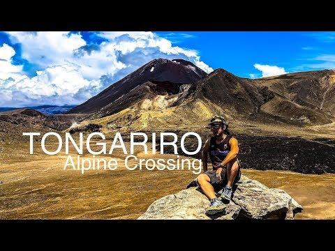 Tongariro Alpine Crossing - Cloudy Weather Guide 4k Full HD