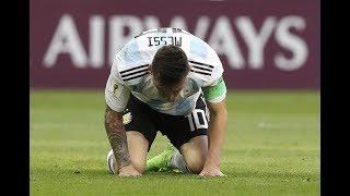 لا تحزن يا ميسي فكأس العالم ليس كل شيء-حلمي تحطم و اختفى-2018 HD