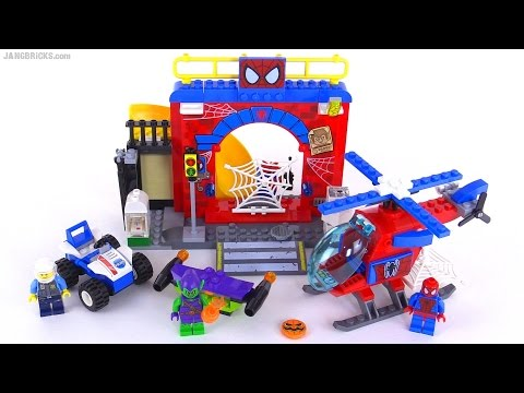 NISB LEGO Juniors Marvel Spider-Man Hideout 10687