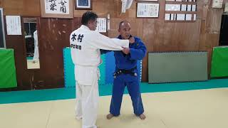 JAPAN OKINAWA JUDO 日本沖繩 伊志嶺柔道部 勝山師範 教授控制