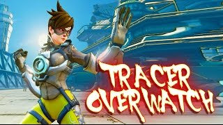 Street Fighter V PC mods - TRACER (OVERWATCH)