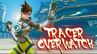 Street Fighter V PC mods - TRACER (OVERWATCH)