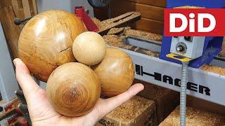 993. Perfekcyjne kule z drewna - jak je wykonać w kilka minut? Hager HKD120A