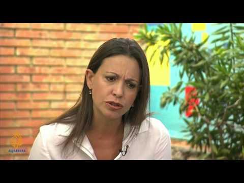Talk to Al Jazeera - Maria Corina Machado: 'This is about freedom'