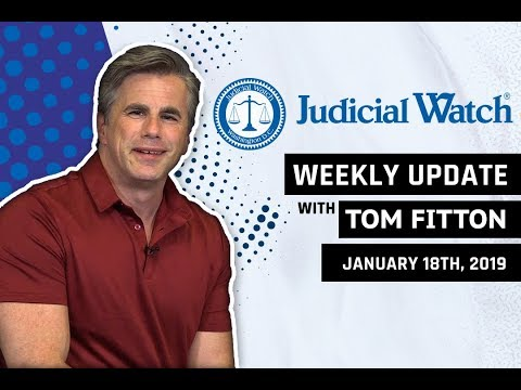 Tom Fitton: New Anti-Trump RussiaGate Scandal, 'Air Pelosi' Grounded, Clinton Email/Benghazi Update!