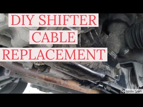 HOW TO REPLACE GEAR SELECTOR CABLE FOR HYUNDAI EON