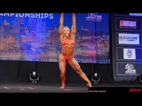 2019 NPC Teen Collegiate & Masters Nationals Women's Bodybuilding Finals Posing Routines.