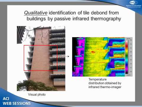 Durability and Debond Evaluation of High-Rise Concrete Buildings Using Infrared Thermography