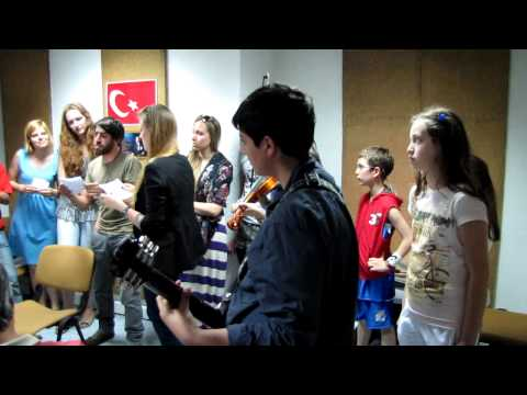 "Youth in action project ""Singing on the train"" - Ankara, Police radio"