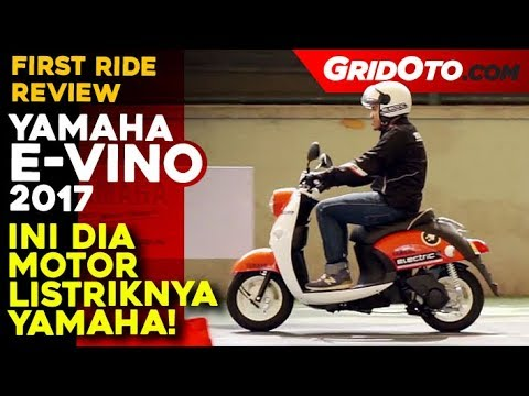 Yamaha E-Vino 2017, First Ride Review Motor Listrik l GridOto