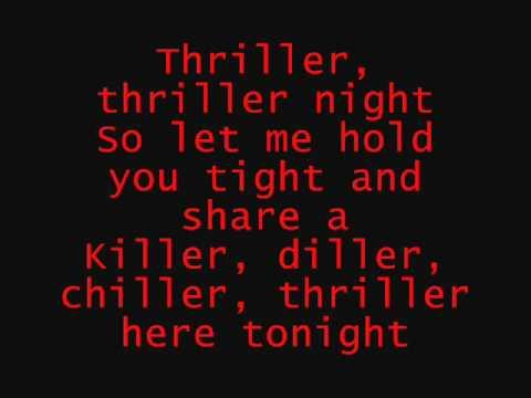 Thriller Michael Jackson (Lyrics)