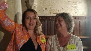 Véronique Bernheim e Inma Yarza nos cuentan su experiencia en la visita teatralizada nocturna