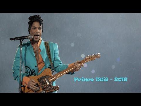 "Prince (1958 - 2016 RIP) ""Purple Rain"" - Super Bowl XLI - Miami 2007"