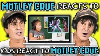 MÖTLEY CRÜE REACTS TO KIDS REACT TO MÖTLEY CRÜE