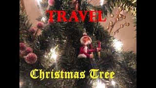 Travel Themed Christmas Tree