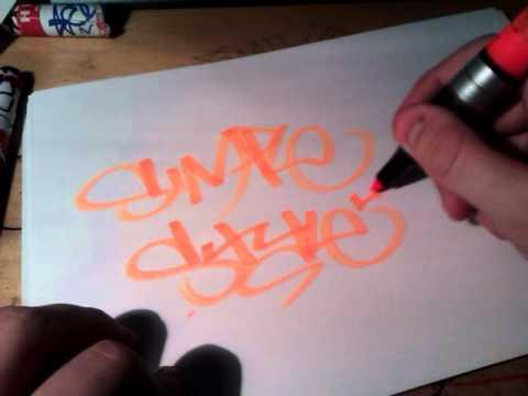 Starting Graffiti Basic Graffiti Tagging Tips And Style