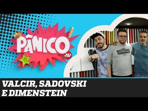 """Gilberto Dimenstein, Roberto Sadovski e Valcir, """"o caçador de views"""" - Pânico - 10/09/19"""