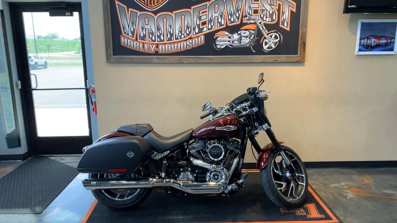 2019 Harley-Davidson Softail Sport Glide-FLSB - YouTube