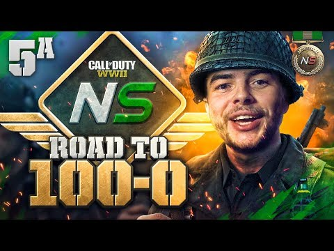 Road to 100-0! - Ep. 5A - This BACKPACK is HUGE! (Call of Duty:WW2 Gamebattles)
