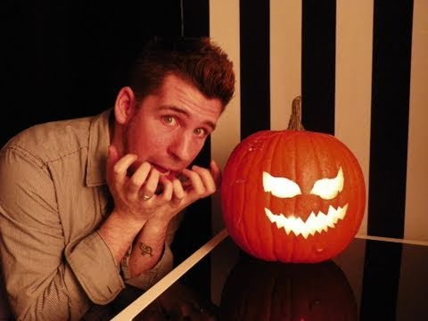 Halloween Kurbis Anleitung Deko Youtube