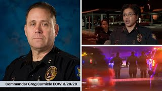 Latest on police commander killed, 2 officers hurt in north Phoenix shooting