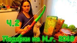 Поездка за подарками и продуктами к Новому 2018г. (часть 2) (12.17г.) Семья Бровченко.