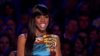 X - Factor: I love you Kelly Rowland - He's so cute